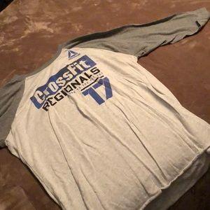 2017 Reebok CrossFit regionals T-shirt
